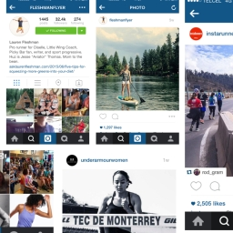 Instagram para corredores
